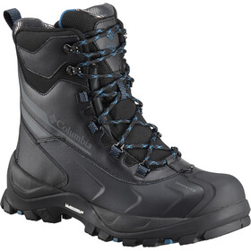 Columbia Bugaboot Plus IV Omni-Heat Boots Men Black/Phoenix Blue